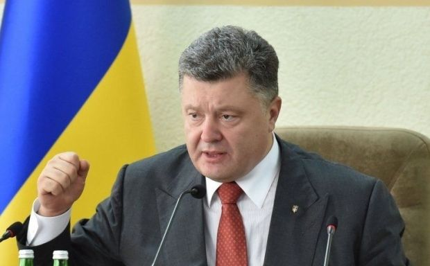 President Poroshenko elaborates on details of a recent Trilateral Contact Group meeting in Minsk / Photo from UNIAN