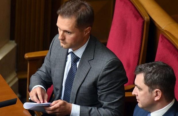 Терентьев во время заседания парламента, 19 мая 2015 г / Фото УНИАН