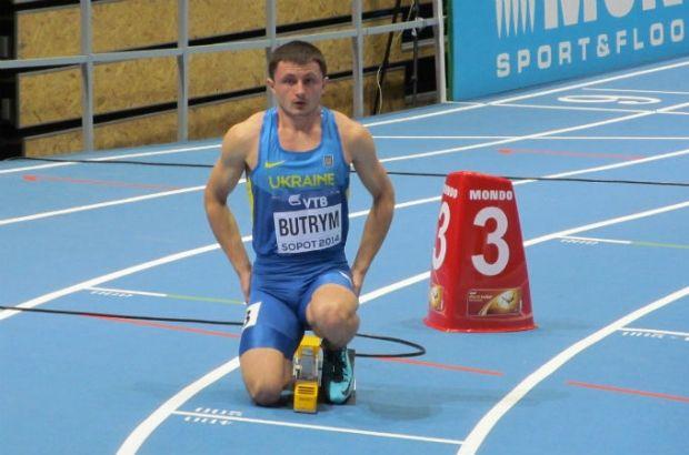 Виталий Бутрым не смог пройти дальше первого круга в беге на 400 метров / xsport.ua