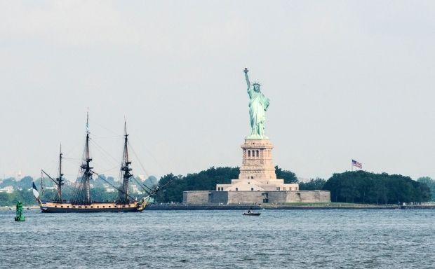 В 1885 году в Нью-Йорк прибыла статуя Свободы/REUTERS