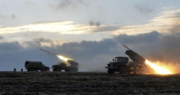 "Боевик вывели на позиции ""Грады"" / фото ru.tsn.ua"