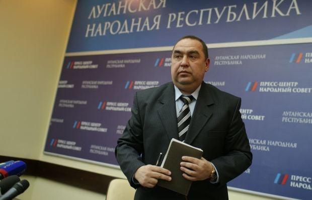 LPR leader Plotnitsky announced local elections in Luhansk region on November 1, 2015 / Photo from ghall.com.ua