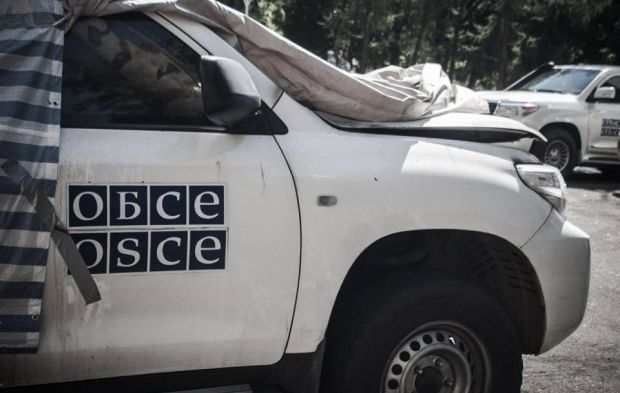The OSCE reports ongoing violations of the truce by militants in Donbas / Photo from twitter.com/InfoResist