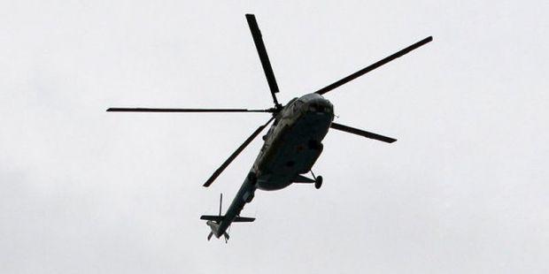 Оружия под фюзеляжем российского Ми-17 замечено не было/ Википедия