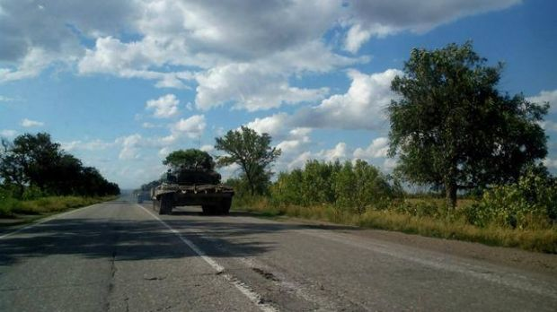 Russia-led forces have almost 500 tanks in occupied Donbas / Photo from facebook.com/EuroMaydan