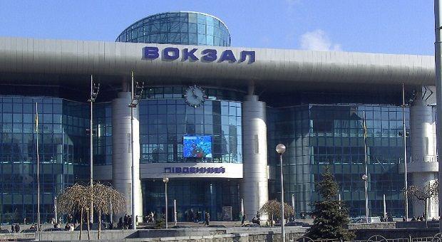 Yuzhniy Railway Station in Kyiv / alfaproduction.com.ua