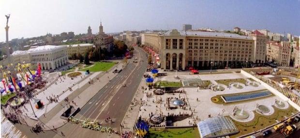 Так виглядав Майдан після реконструкції