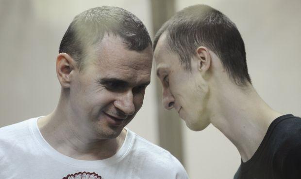 Олег Сенцов и Александр Кольченко / REUTERS