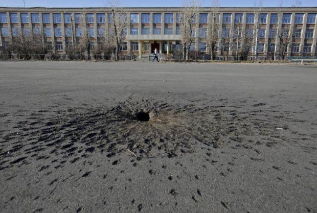 ЮНИСЕФ рассказали об атаках на украинские школы в зоне боевых действий / фото УНИАН