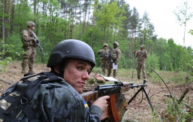 Ukraine-US military exercises / Photo from UNIAN
