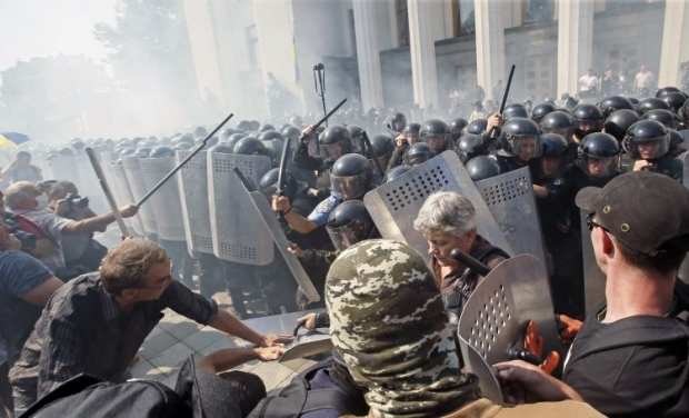 Avakov hastened to accuse representatives of Svoboda party of committing a crime / Photo from UNIAN