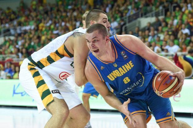 Кирилл Фесенко стал лучшим игроком сборной Украины в последнем матче Евробаскета / sport-xl.org