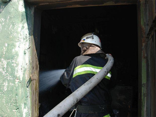 Площадь пожара составила около 100 кв. м / mns.gov.ua