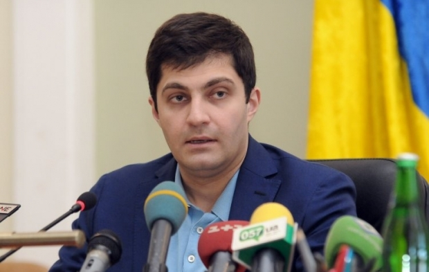 One of the party's leaders and ex-deputy prosecutor general in Ukraine David Sakvarelidze / Photo from UNIAN