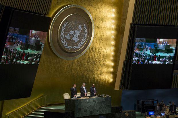 """Україна анонсувала """"неприємні сюрпризи"""" Росії на наступній сесії Генасамблеї ООН / Ілюстрація REUTERS"""