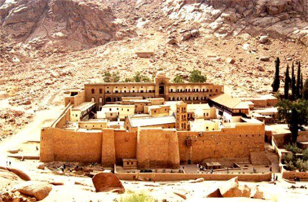Монастырь св. Екатерины на Синае испытывает трудности в связи с отменой паломничеств