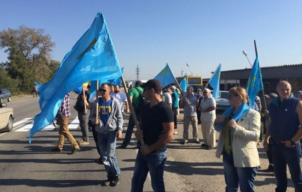 The blockade will be held in three stages / Photo from Ayder Muzhdabaev