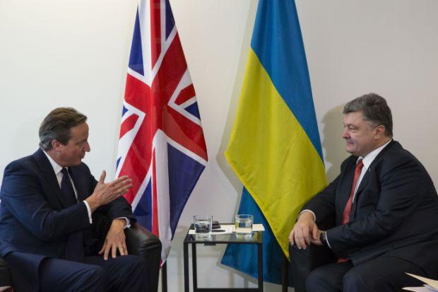 Cameron pledged readiness to continue supporting Ukraine / president.gov.ua