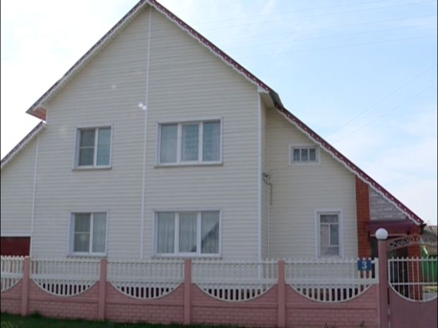 It was not difficult to find Aleksandrov's house / Photo from UNIAN