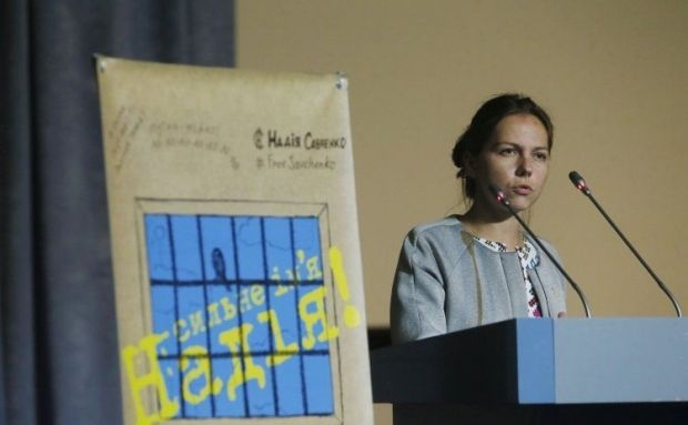 Vira Savchenko finally admitted to Russian territory / Photo from UNIAN