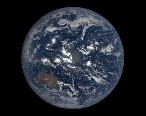 Земля может стать слишком жаркой для жизни / NASA