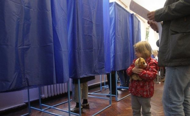 Low turnout recorded in the elections / Photo from UNIAN