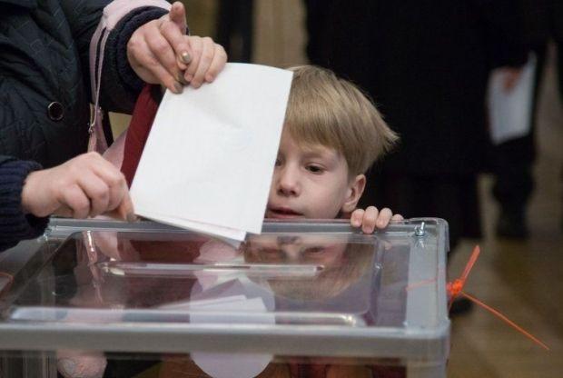 Выборы, Киев / Фото УНИАН