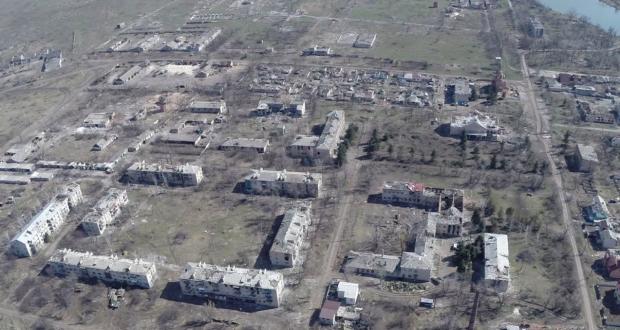 Сили АТО зазнали обстрілу в районі Донецького аеропорту / Піски, panoramio.com/user/8811656
