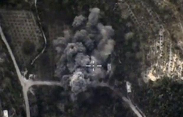 Российский авиаудар в Сирии / REUTERS