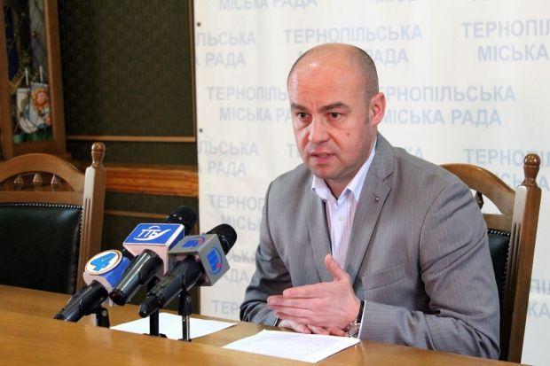 Сергій Надал став мером Тернополя / rada.te.ua