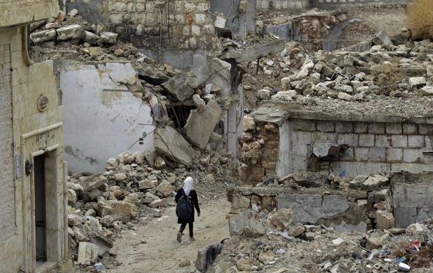 Руины в сирийской провинции Идлиб / REUTERS