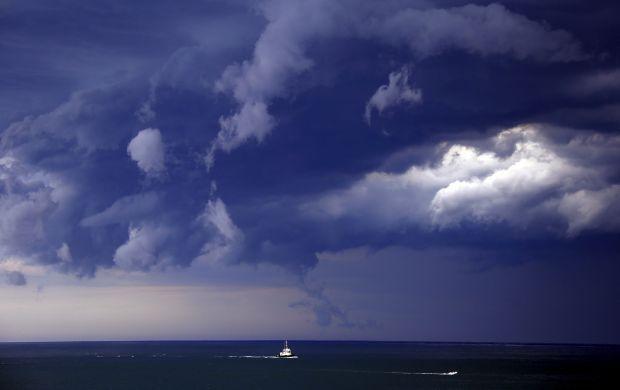 На сьогодні в Україні оголосили штормове попередження / фото REUTERS