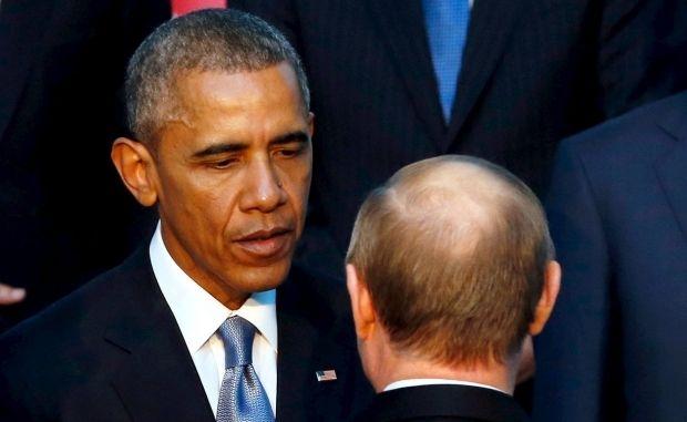 Путин и Обама / REUTERS