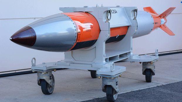 Испытания ядерной бомбы B61 12-й модификации ведутся с 2015 года / twitter.com/clocksstrike13