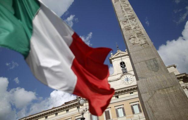 Флаг Италии. Фотоиллюстрация / REUTERS