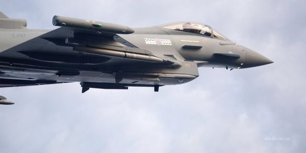 The Typhoons built by BAE are a key part of Saudi Arabia's hugely strong air force / Photo from 40cdo-rm.ru