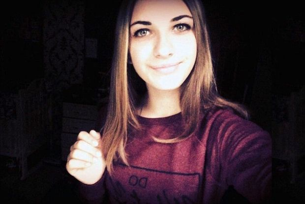 Maria Ivleva, 15, is thought to have been the first to die in the tragedy above the Sinai / Photo from The Daily Mail