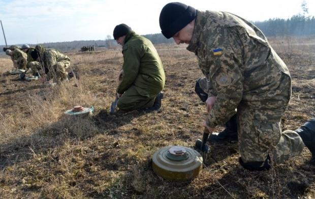 МинВОТ оцінює розмінування Донбасу в 800 млн доларів / фото УНІАН