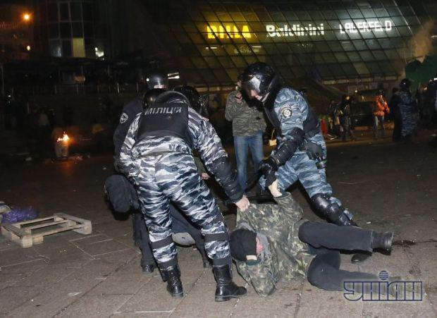 З'явився перший судовий вирок проти беркутівців, що громили Євромайдан/ фото: УНІАН