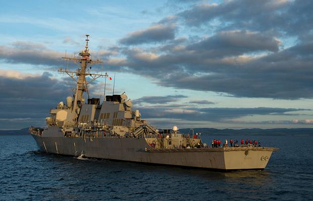 USS Ross  / U.S. Navy photo by Justin Stumberg