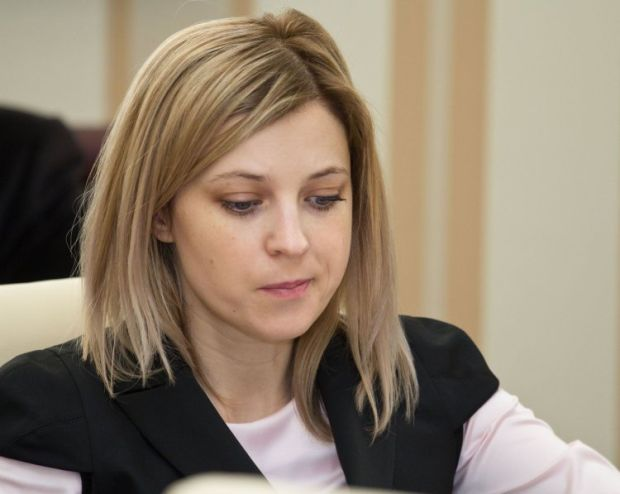 Poklonskaya signed the request to brand the Mejlis