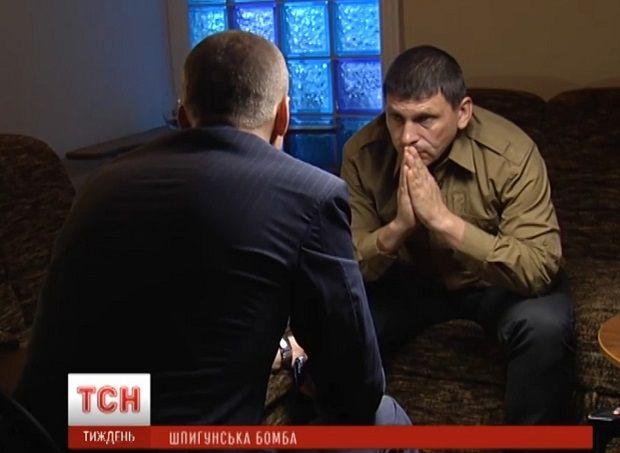 A former FSB officer tells TSN journalist Andriy Tsaplienko about Russian special services' involvement in London and Paris attacks / Screenshot from tsn.ua