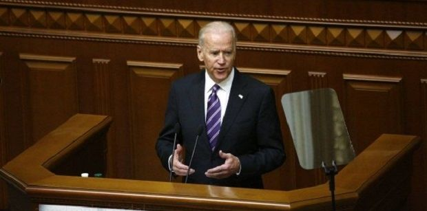 Biden says the United States is with Ukraine / Photo from Vlad Sodel