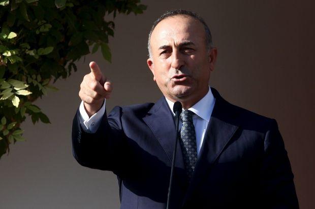Министр иностранных дел Турции Мевлют Чавушоглу \ REUTERS