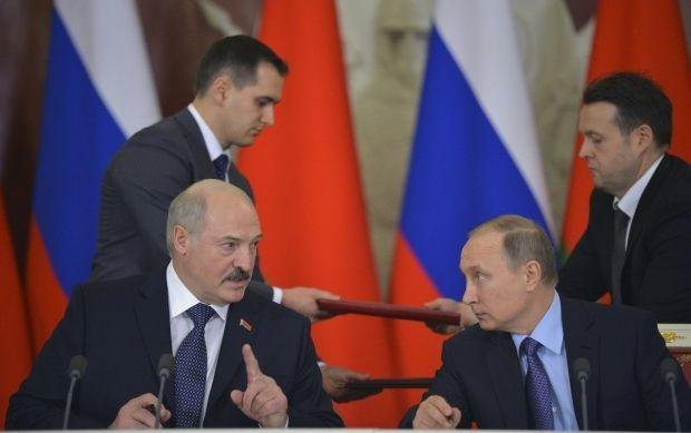 Александр Лукашенко и Владимир Путин / REUTERS