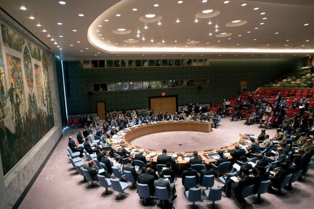 A UN Security Council meeting on Donbas was held on Thursday evening at Ukraine's request / Photo from un.org