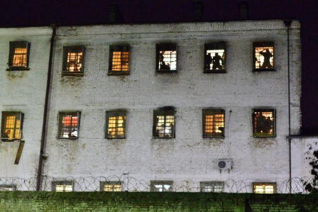 """Омбудсмен відвідала у Лук'янівському СІЗО ув'язнених """"торнадівців"""" / фотоУНІАН"""
