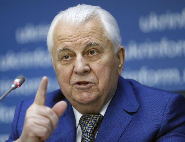 Кравчук уверен, что лучший путь решения ситуации на Донбассе – дипломатический / фото УНИАН