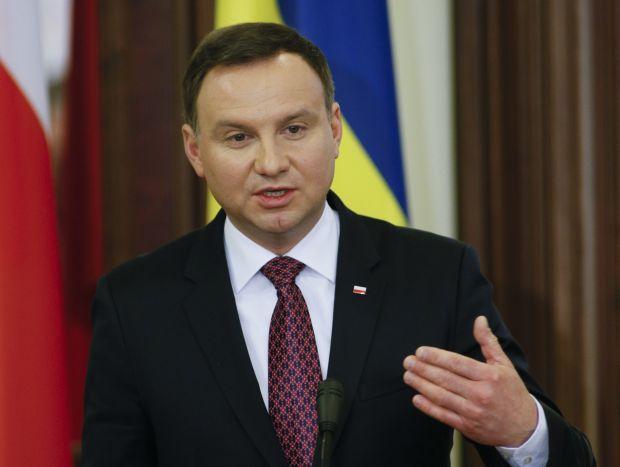 Президент Польщі Анджей Дуда \ REUTERS