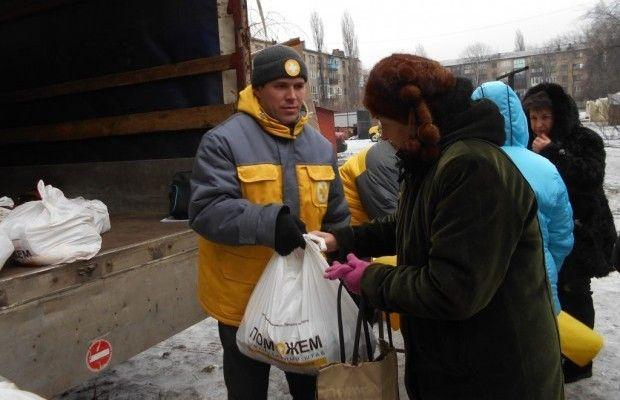За все время работы Штаб Рината Ахметова выдал 7 млн. 812 тыс. взрослых и детских наборов  / Фото: Пресс-служба Гуманитарного штаба Рината Ахметова